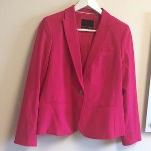 Banana Republic pink blazer size 8P